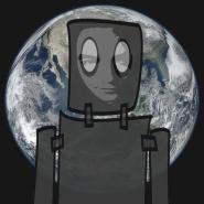 AK Finn Almost Human Robot dim